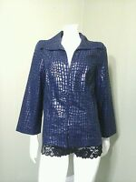 Simonton Says Women's Blue Jacket ~Size S