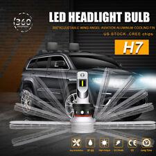 2X OSRAM H7 60W 10000LM LED Headlight Kits Low Beam Bulbs 6000K White Fanless US