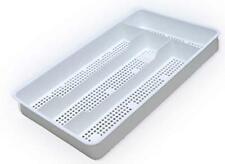 New listing Dial Industries B694W Small Mesh Cutlery Organizer Tray, White