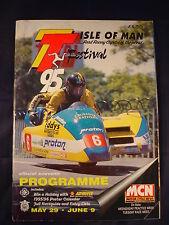 1995 Isle of Man TT Programme