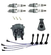 Toyota Tacoma 95-97 2.4L 2.7L Rotor Cap Spark Plugs Wire Ignition KIT NGK/YEC