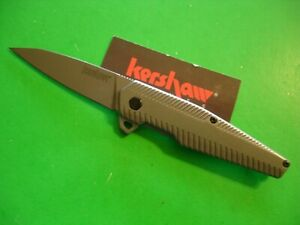 "NTSA  KERSHAW 3 3/4"" CLOSED ""OEM"" FRAME LOCK POCKET KNIFE #1359"