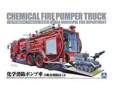 Aoshima 1/72 Chemical Fire Pumper Truck (Osaka Municipal Fire Department) # 0120