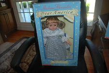 Remember Abigail Jane Stewart Dear America Series 18'' Madame Alexander Doll New