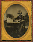 AMBROTYPE OF J. FRANKLIN REIGART SOLICITOR OF PATENTS INVENTOR & PATENTEE GUIDE