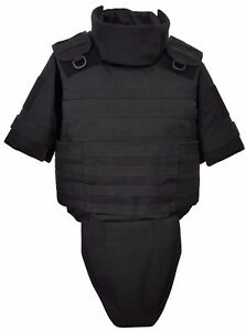 Body Armor Plate Carrier MOLLE Tactical Vest IIIA waterproof inserts, size M