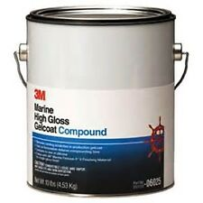 3M Marine High Gloss Gelcoat Compound, 06025, Gallon