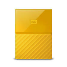 WD My Passport 2TB Yellow Manufacturer Refurbished Portable Hard Drive by Wes...