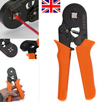 Wire Crimping Pliers Tool SetFerrule Crimper 0.25-6mm + 800Pcs Crimp Terminals