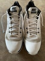 Nike Mens Air Versitile 852431-100 White Black Running Shoes Lace Up Size 13