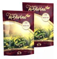 Te Divina Vida Divina, TeDivina Detox Tea 2 Packs 2 week supply  Weight Loss