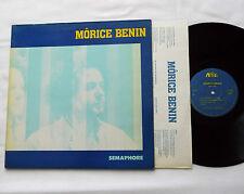 Morice BENIN Semaphore ORIG LP ABA BEN 09 (1982) pochette ouvrante  VG+/EX