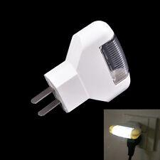 Blanco luz LED noche decoración dormitorio Plug en la potencia de uso