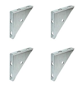 Sturdy 70mm Steel Angle Replacement Fixing Support Joint Brace Corner Brackets