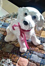 GOEBEL White Cocker Spaniel Dog Figurine
