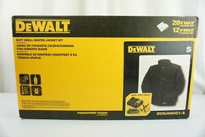 DeWalt DCHJ060C1-S 20vMax Soft Shell Heated Jacket Kit with Battery & Charger