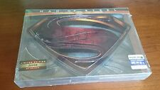 MAN OF STEEL STEEL 3D BLURAY DVD Limited Edition BOX Set DISPLAY STAND DC NEW