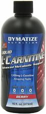 Dymatize Nutrition Liquid L-Carnitine 1100, Berry, 16 Ounce, New, Free Shipping