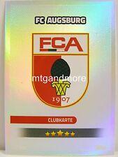 Match Attax 2016/17 Bundesliga - #325 FC Augsburg - Clubkarte / Wappen