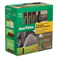Rain Bird Sprinkler System Automatic Easy to Install In-Ground Lawn-Garden Kit