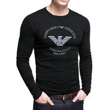 ARMANI Long Sleeve Big & Tall T-Shirts for Men