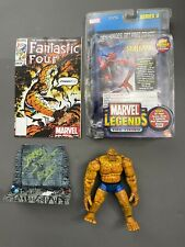 Marvel Legends Toy Biz Series 2 The Thing Action Figure w FANTASTIC FOUR Comic
