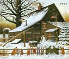 Charles Wysocki Cocoa Break At The ...CANVAS Stretched S & N With Certificate