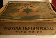Rarissime présentoir  bureau de tabac pour boite allumettes ancienne Suédoise.