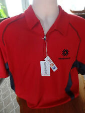 Fanshawe College Men's Golf/Polo Shirt- BNWT sz.L- UV, Moisture Wick, Easy Care