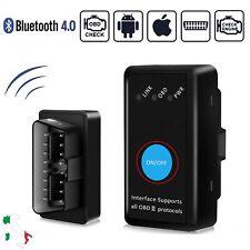 OBD2 Bluetooth Diagnosi Auto Scanner Lettore Codici per iOS Android e Windows