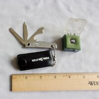 Vintage 3 Blade USA Pocket Pen Knife and Balfour Tie Tack   KELLY SPRINGFIELD