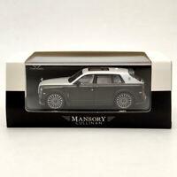 1:64 Rolls Royce CULLINAN SUV Mansory Blue w/Figure Diecast Gifts Car Time Model
