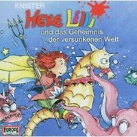 """HEXE LILLI """"HEXE LILLI-UND DAS GEHEIMNIS DER VERSUNKENEN WELT"""" CD NEW"""