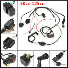 New 50cc-125cc CDI PIT Wire Harness Stator Assembly Wiring ATV Electric Quad Kit