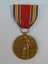 WWII Victory Medal 1941 1945 Freedom Fear Want Speech Religion Orig Vet's Estate