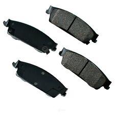 Disc Brake Pad Set-Proact Ultra Premium Ceramic Pads Rear Akebono ACT1194
