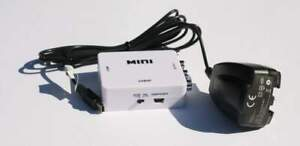 HDMI to Composite RCA Box Scaler 1080P with Power Supply