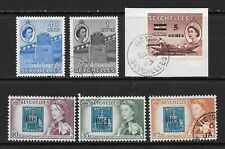 1956-61 Queen Elizabeth II SG189 to SG195 2 Sets 6 Stamps  Fine Used SEYCHELLES