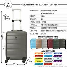 Aerolite ABS322 Luggage Cabin Travel Suitcase