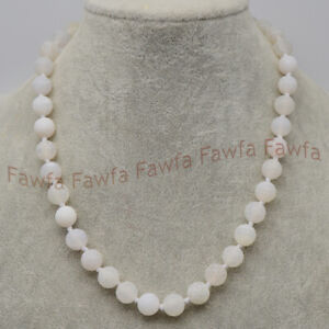 6/8/10mm White Matte Dream Fire Veins Agate Round Gems Beads Necklace 16-36''