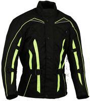 Hivis Motorbike Jacket Wind/ Waterproof  Motorcycle Armour protector