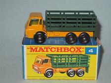 MATCHBOX Regular Wheels 04 Stake Truck MINT in Excellent F2 Box