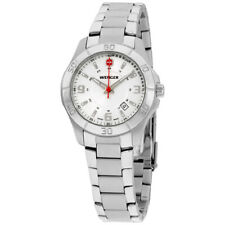 Wenger Alpine Quartz Movement White Dial Ladies Watch 70499