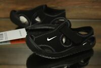 Nike Sunray Protect (TD) Black White 903632-001 Toddler Shoes NEW