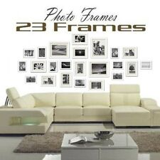 23 pcs Picture Photo Frame Set Wall White 176 x 80cm Home Decor Art Colour Gift
