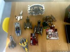 Lego Star Wars / space  Bundle Job Lot (some sets incomplete or in parts)