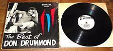 DON DRUMMOND ~ THE BEST OF ~ JAMAICAN JA STUDIO 1 ONE SKA LP 1968