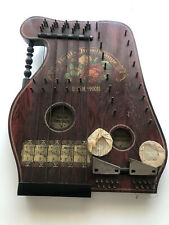 Altes Musikinstrument Zither ?Hopf?s Jubelklänge?