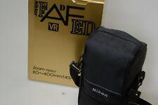 Nikon 80-400mm f/4.5-5.6 D VR AF ED Lens, boxed, case, UV filter, not a mark.