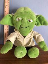 Kenner 1997 STAR WARS BUDDIES Yoda BEANBAG plush toy doll  NEW WITH TAG!